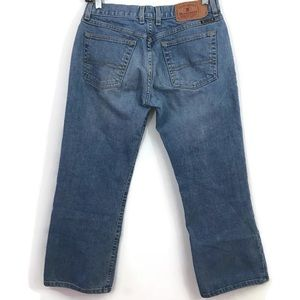 Lucky Brand Lowered Peanut Crop Jeans Dungarees